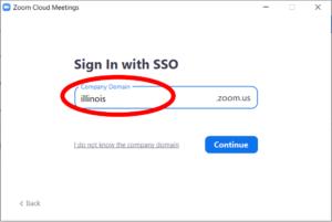 zoom illinois portal screenshot